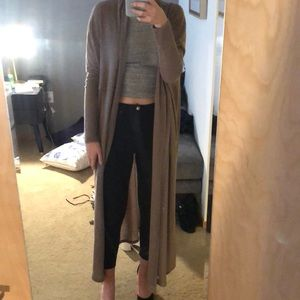 Urban Outfitters sweater duster